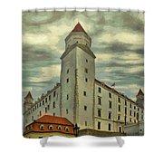 Bratislava Castle Shower Curtain