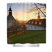 Bratislava From Castle Hill. Shower Curtain