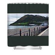 Bray Seafront, Ireland Shower Curtain