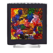 Brazilian Carnival Shower Curtain
