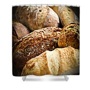 Bread Loaves Shower Curtain