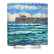 Breakers At Pawleys Island Shower Curtain