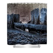 Breakers At Whitefish Point Michigan Shower Curtain