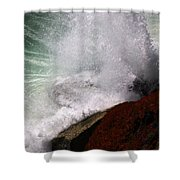 Breakers Shower Curtain