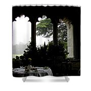Breakfast At Daybreak Shower Curtain