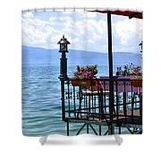Breakfast For Two Shower Curtain