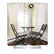 Breakfast Nook In Rustic House Shower Curtain by Elena Elisseeva