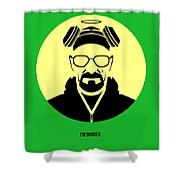 Breaking Bad Poster 3 Shower Curtain