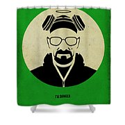 Breaking Bad Poster Shower Curtain