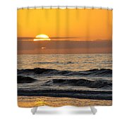 Breaking Day Shower Curtain