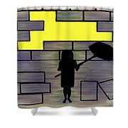 Breaking Down Barriers Shower Curtain