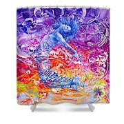 Unstoppable  Breaking Free II Shower Curtain