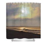 Breaking Sun Shower Curtain