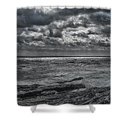Breaking Sun Shower Curtain