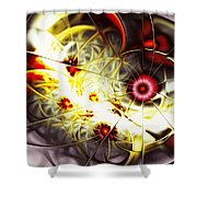 Breakthrough Shower Curtain by Anastasiya Malakhova