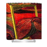 Breakthrough Shower Curtain by Sarah Loft