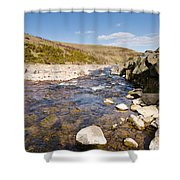 Breamish River Shower Curtain