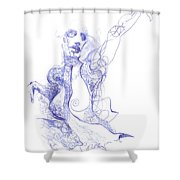 Breath Shower Curtain