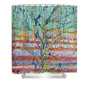 Breathe - Tree Of Life 4 Shower Curtain