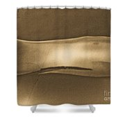 Breathing Wall Beige Version Shower Curtain