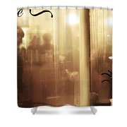 Breaths In The Rain Shower Curtain