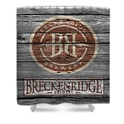 Breckenridge Brewery Shower Curtain