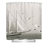 Breeze Shower Curtain