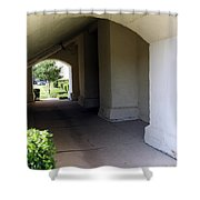Breeze Way Shower Curtain