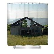Breezeway View Shower Curtain