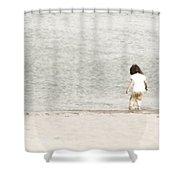 Breezy  Shower Curtain