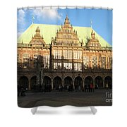 Bremen Town Hall Germany Shower Curtain