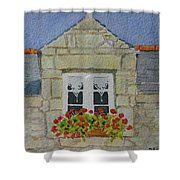 Bretagne Window Shower Curtain
