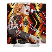 Brett Dennen Shower Curtain