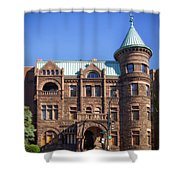 Brewmaster Castle - Washington Dc Shower Curtain