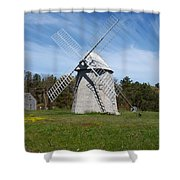 Brewster Windmill Shower Curtain