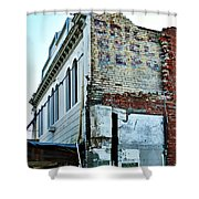 Brice Cycle Depot Shower Curtain