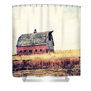Brick Barn Ll Shower Curtain