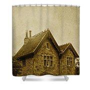 Brick House Shower Curtain