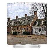 Brick House Tavern In Williamsburg Shower Curtain