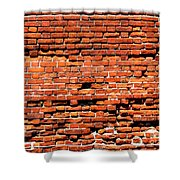 Brick Scarp Walls And Casement Gallery Shower Curtain