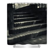 Brick Steps Shower Curtain