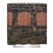 Bricked Windows   #2561 Shower Curtain