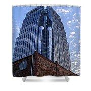 Bricks And Glass Shower Curtain