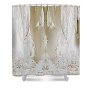 Bridal Satin Shower Curtain