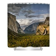 Bridal Vail Fall In The Spotlight Shower Curtain