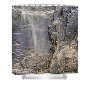 Bridal Veil Blowing In The Wind Shower Curtain