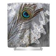 Bridal Veil Shower Curtain
