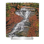 Bridal Veil Waterfall Shower Curtain