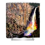 Bridalvail Falls Yosemite National Park Shower Curtain