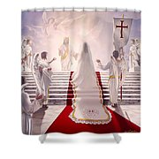 Bride Of Christ Shower Curtain